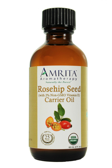 Rosehip Seed Carrier Oil with Vitamin E Organic