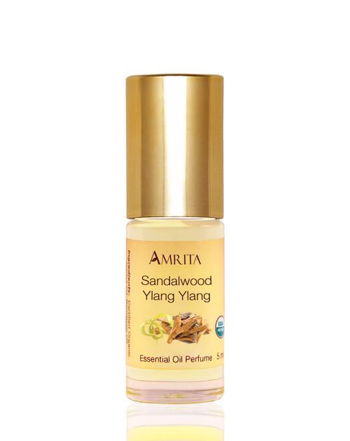 Sandalwood Ylang Ylang Perfume Organic