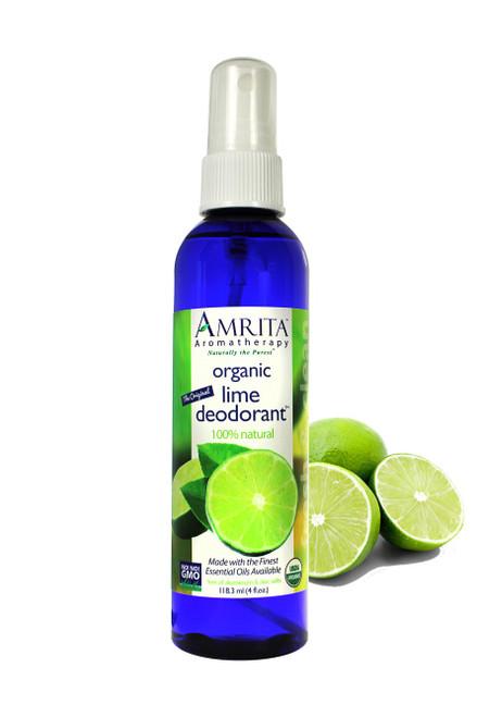 Lime Deodorant Organic