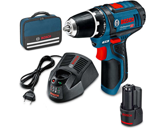 Bosch Professional HD 12v Drill Driver Kit