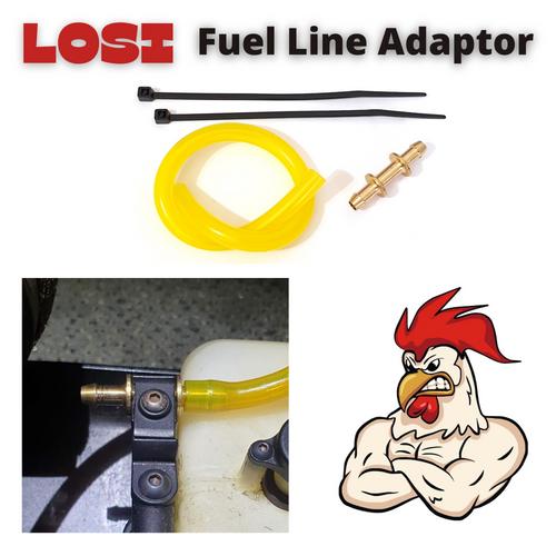 RTE Super Flow LOSI Fuel Line Adaptor