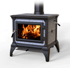 HearthStone Castleton Wood Stove in Matte Black