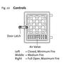 Jotul F602 Complete Door w/Glass