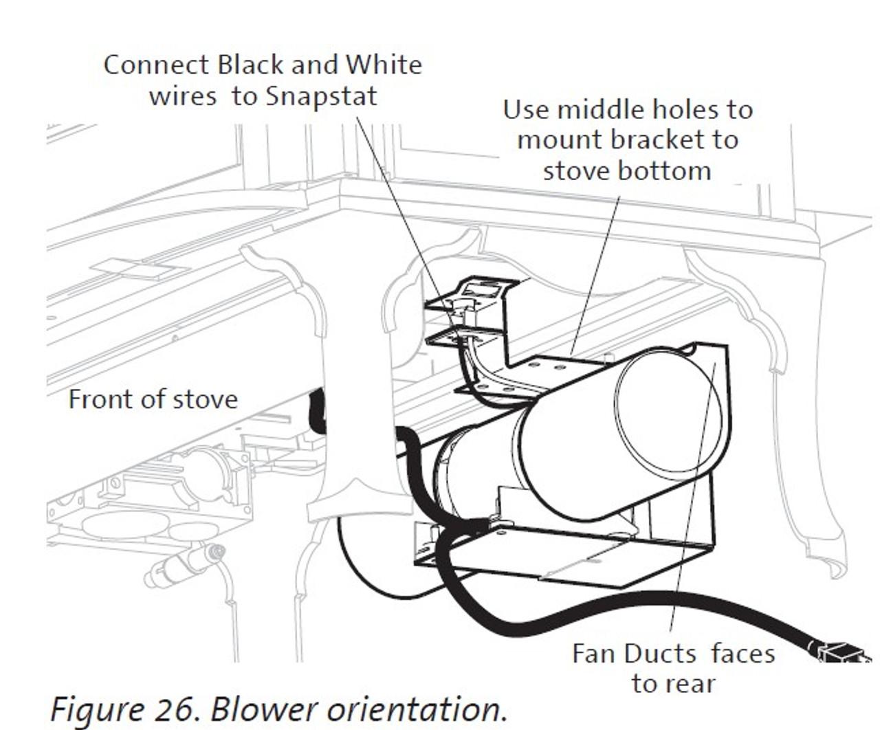 Jotul 129161 Blower Kit