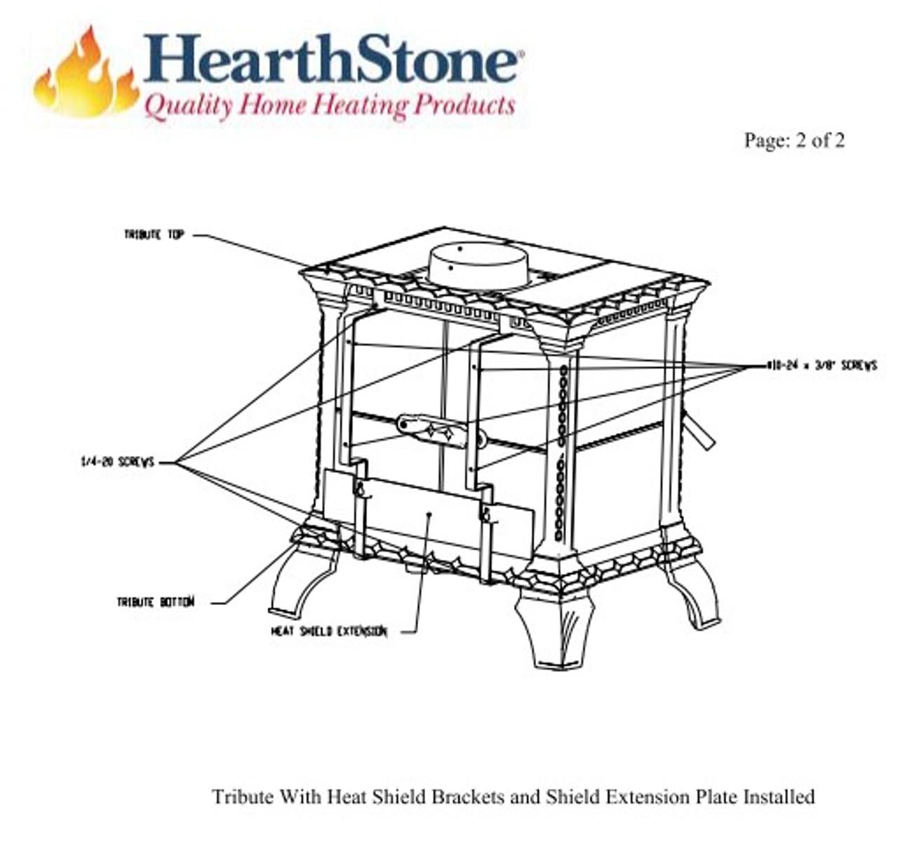 HearthStone Tribute Rear Heat Shield