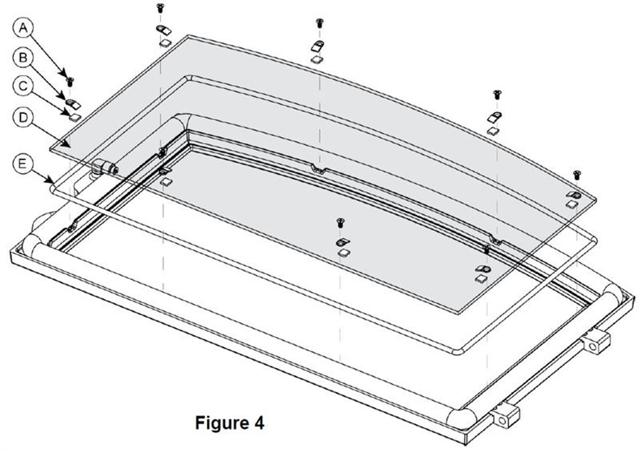 Hearthstone WFP-75 Door/Window Gasket Kit