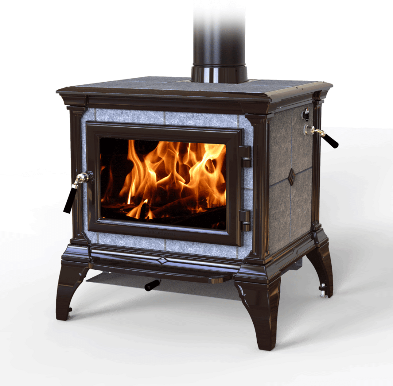 HearthStone Castleton Wood Stove in Brown