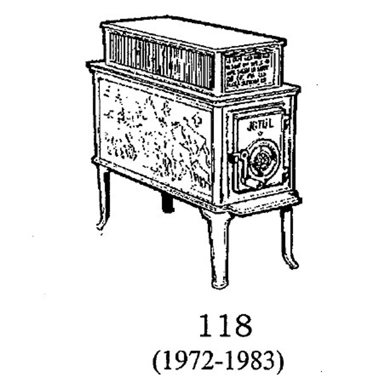 Jotul 118 Top Baffle 100747