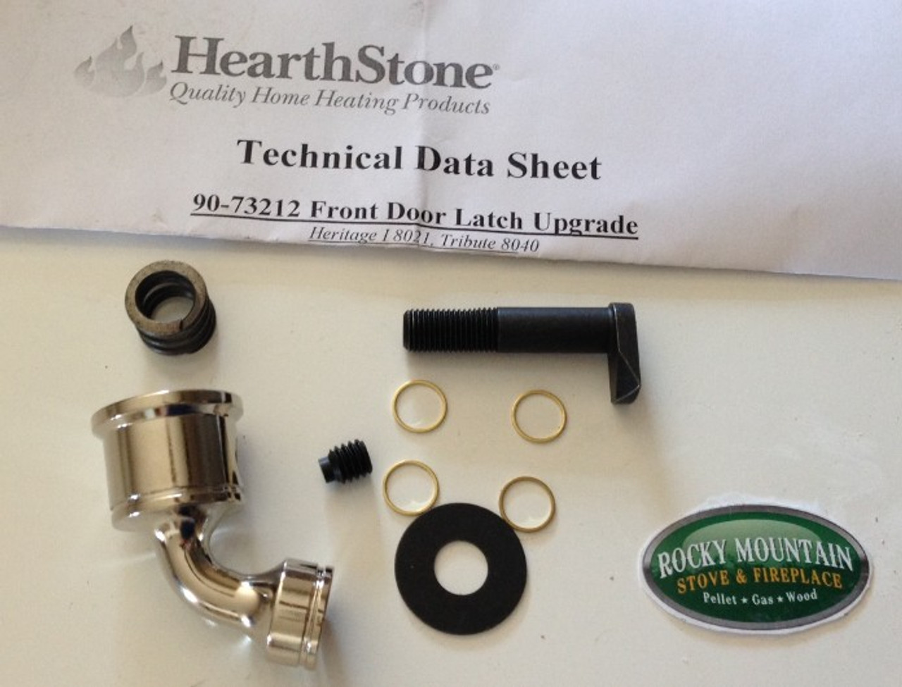 HearthStone 90-73212 Front Door Latch