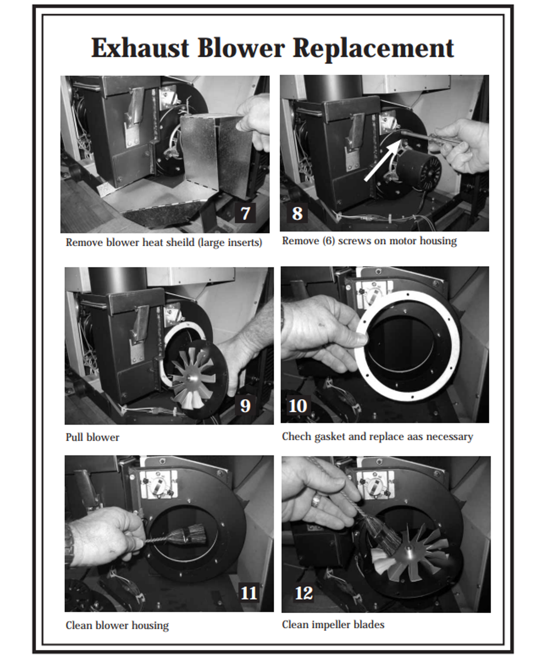 Lopi / Avalon 250-00538 Combustion Blower