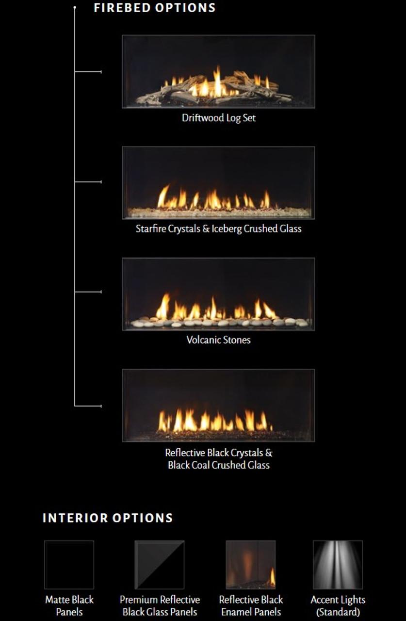 Chicago Corner 40 - City Series Gas Fireplace