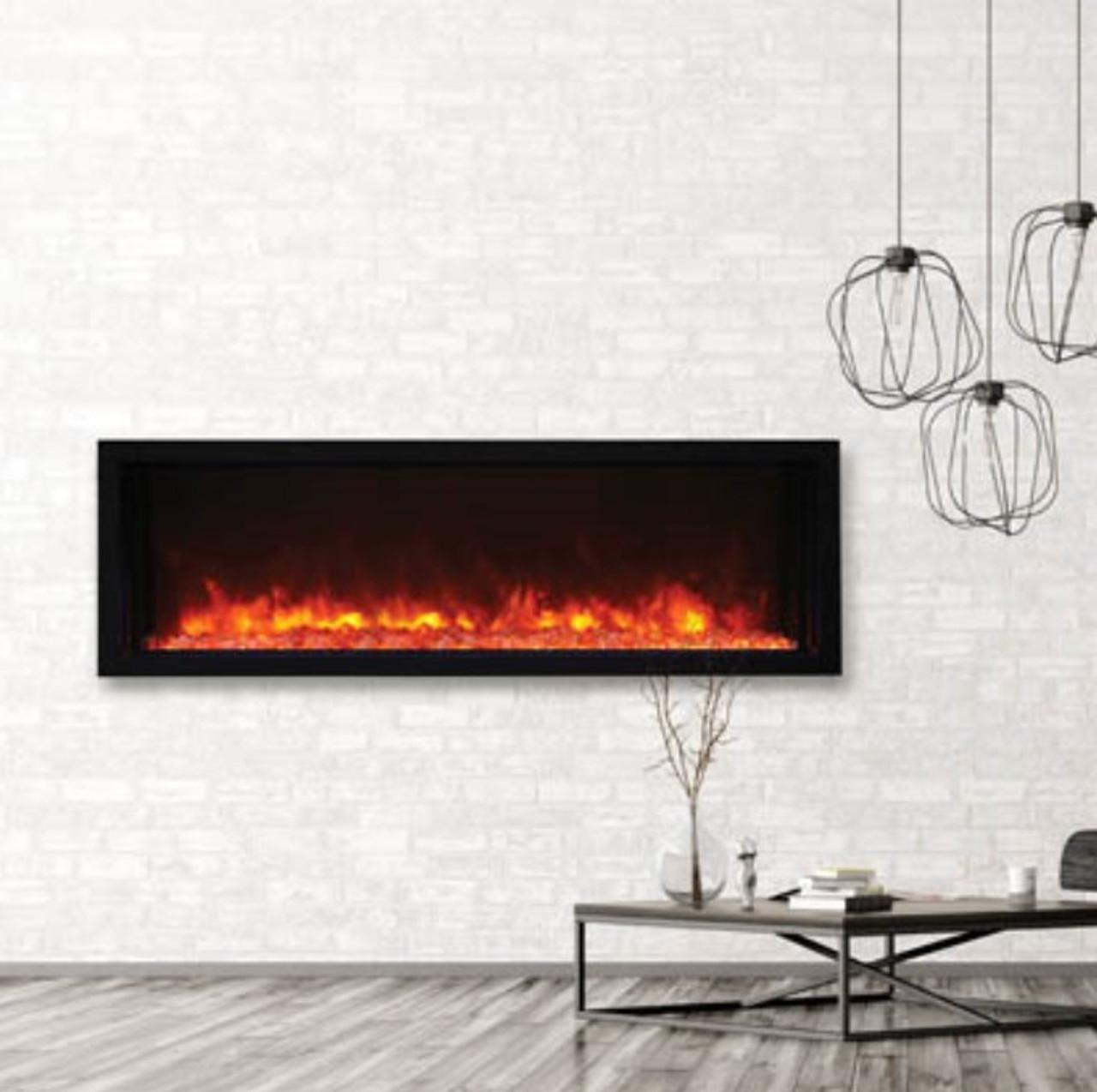 Amantii XtraSlim Electric Fireplace