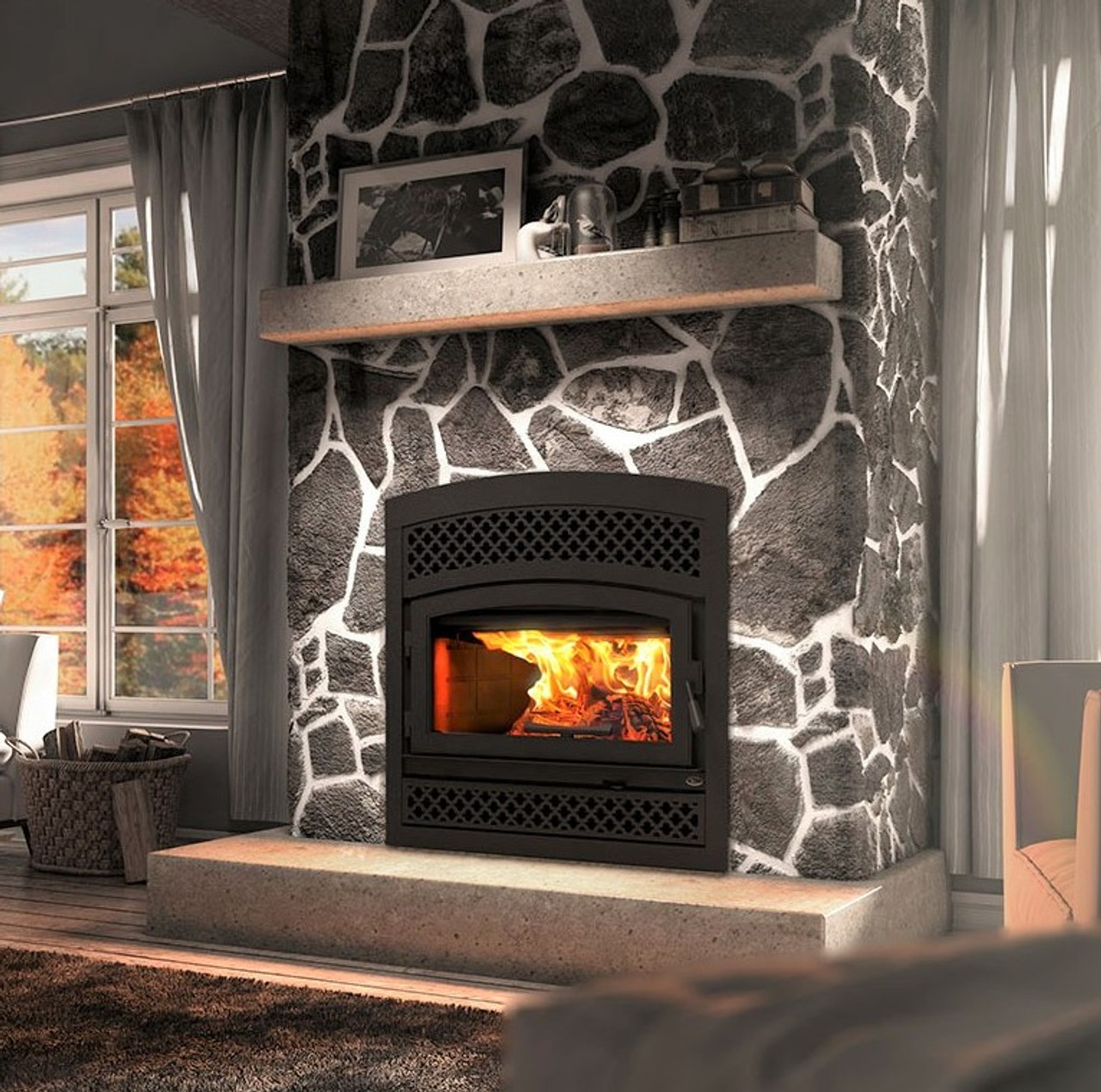 Valcourt FP10 Lafayette II Wood Burning Fireplace
