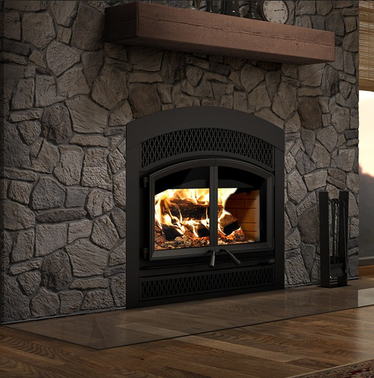 Valcourt FP15A Waterloo - Arched Classic Wood Fireplace
