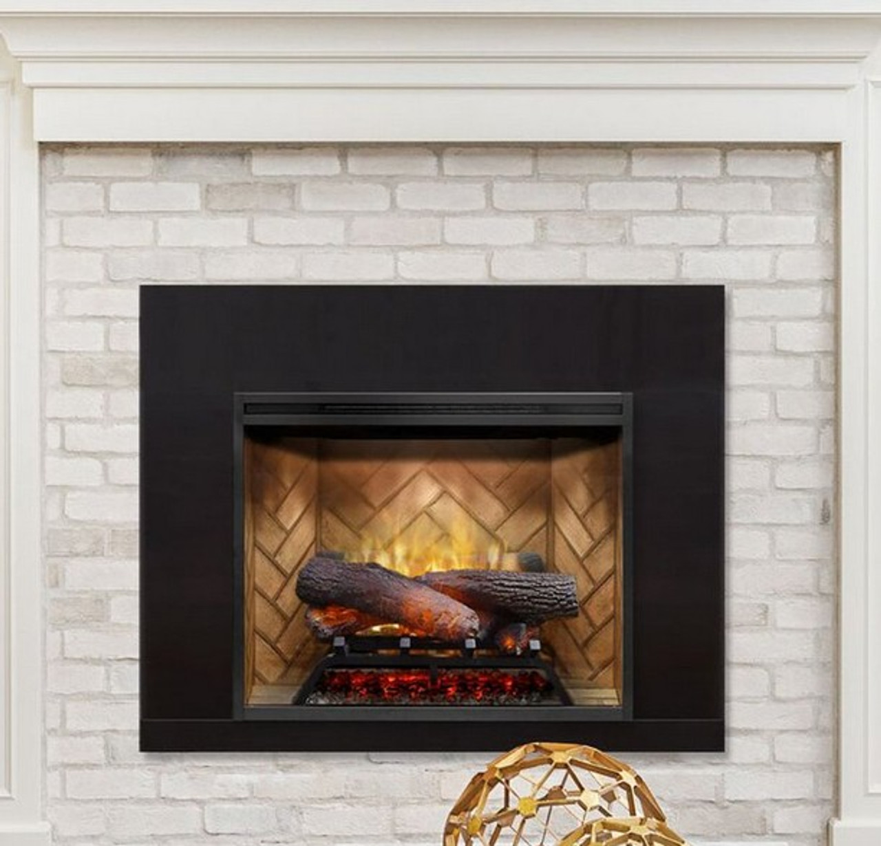 Dimplex Revillusion 24 Electric Fireplace Insert Rocky