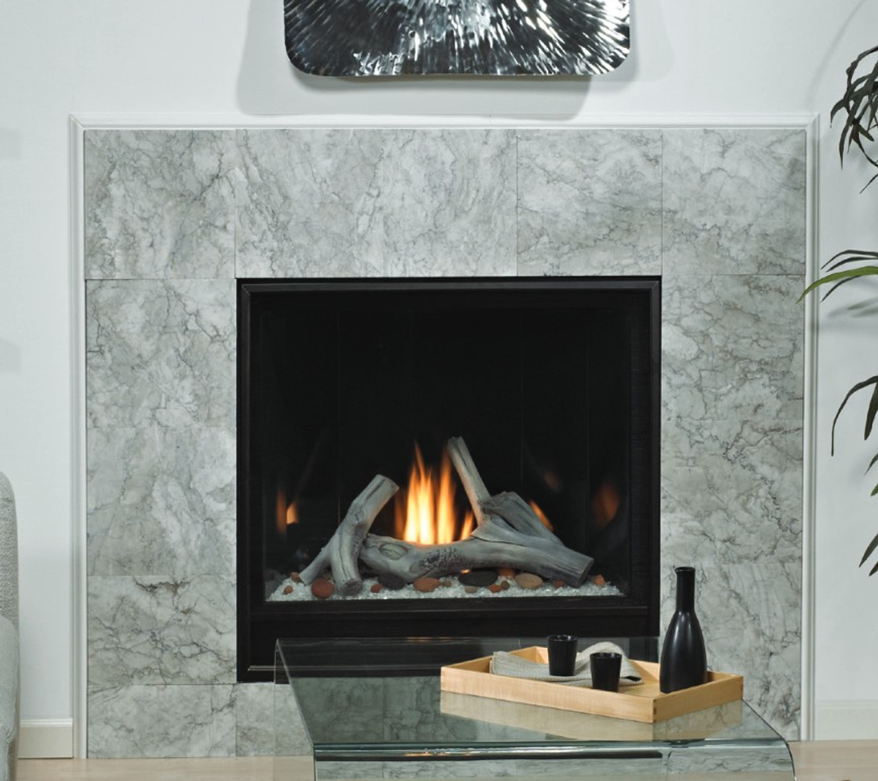 Madison Premium Clean Face Gas Fireplace