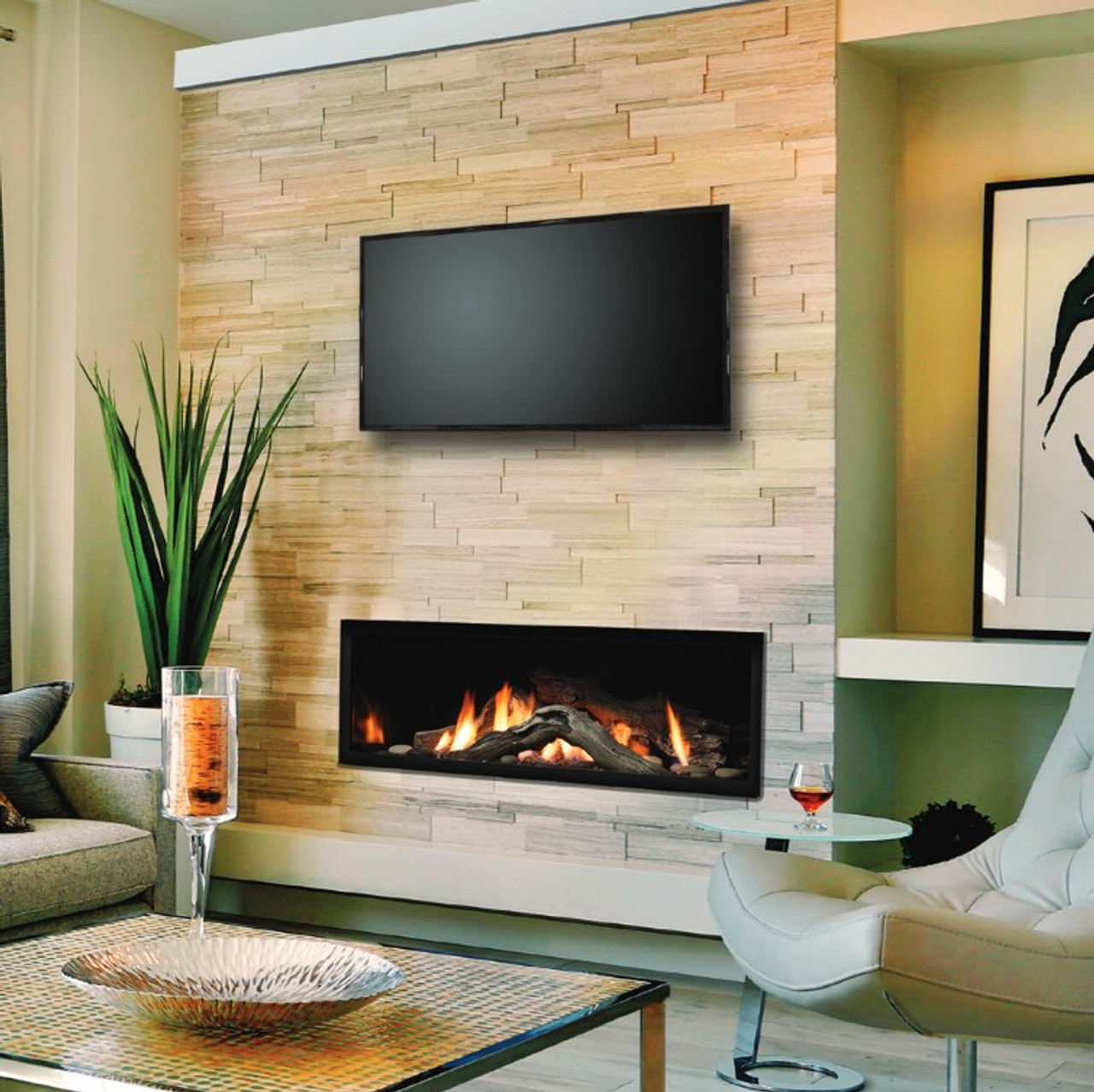 Marquis Serene 60 Linear Gas Fireplace