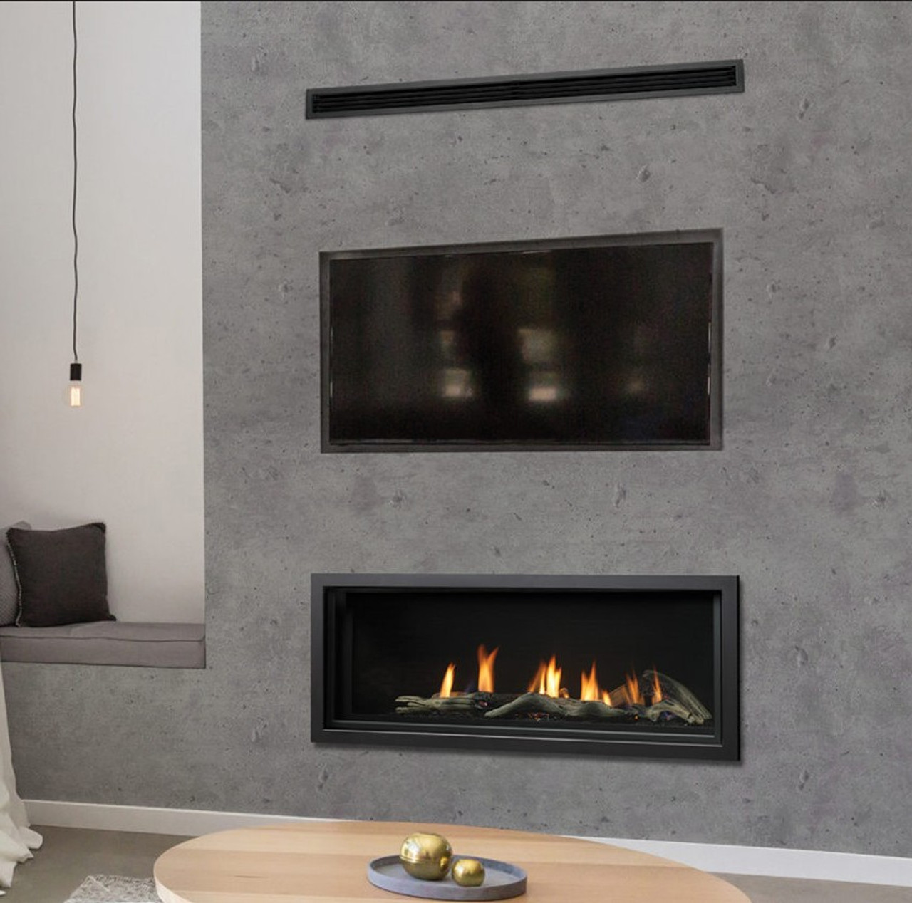 Marquis Serene 47 Linear Gas Fireplace