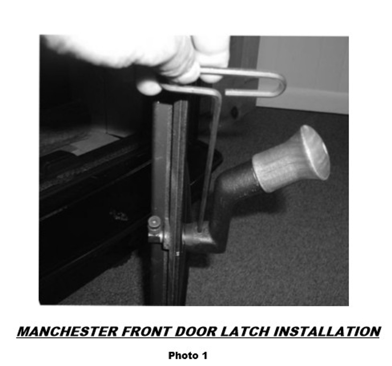 Manchester Front Door Latch Kit