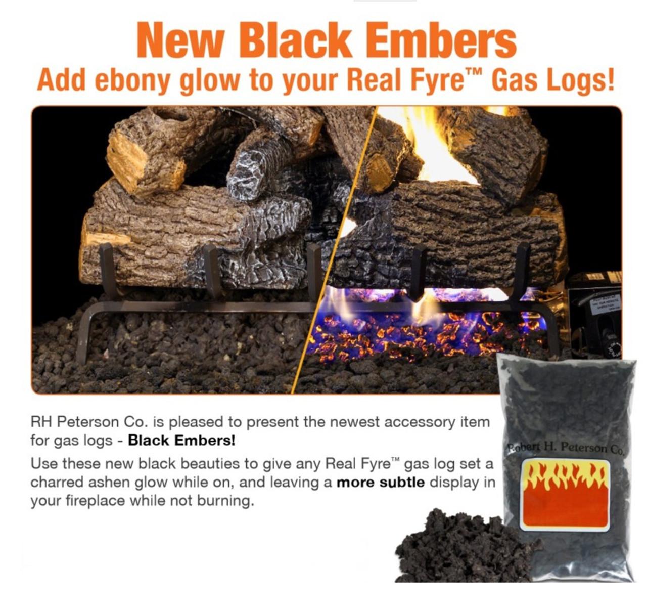 Black Glowing Embers