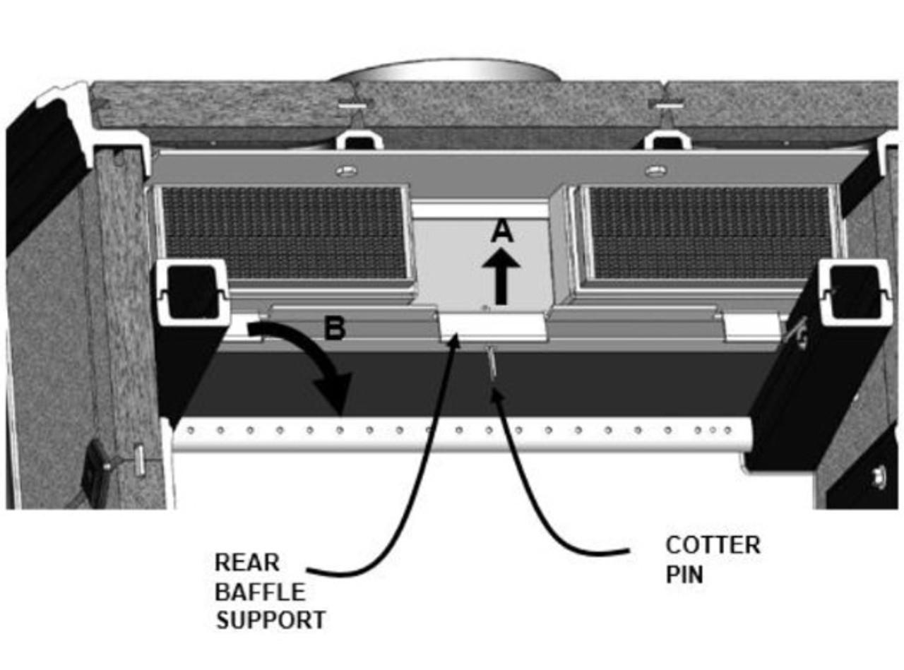 Castleton I 8031 Baffle Replacement Kit