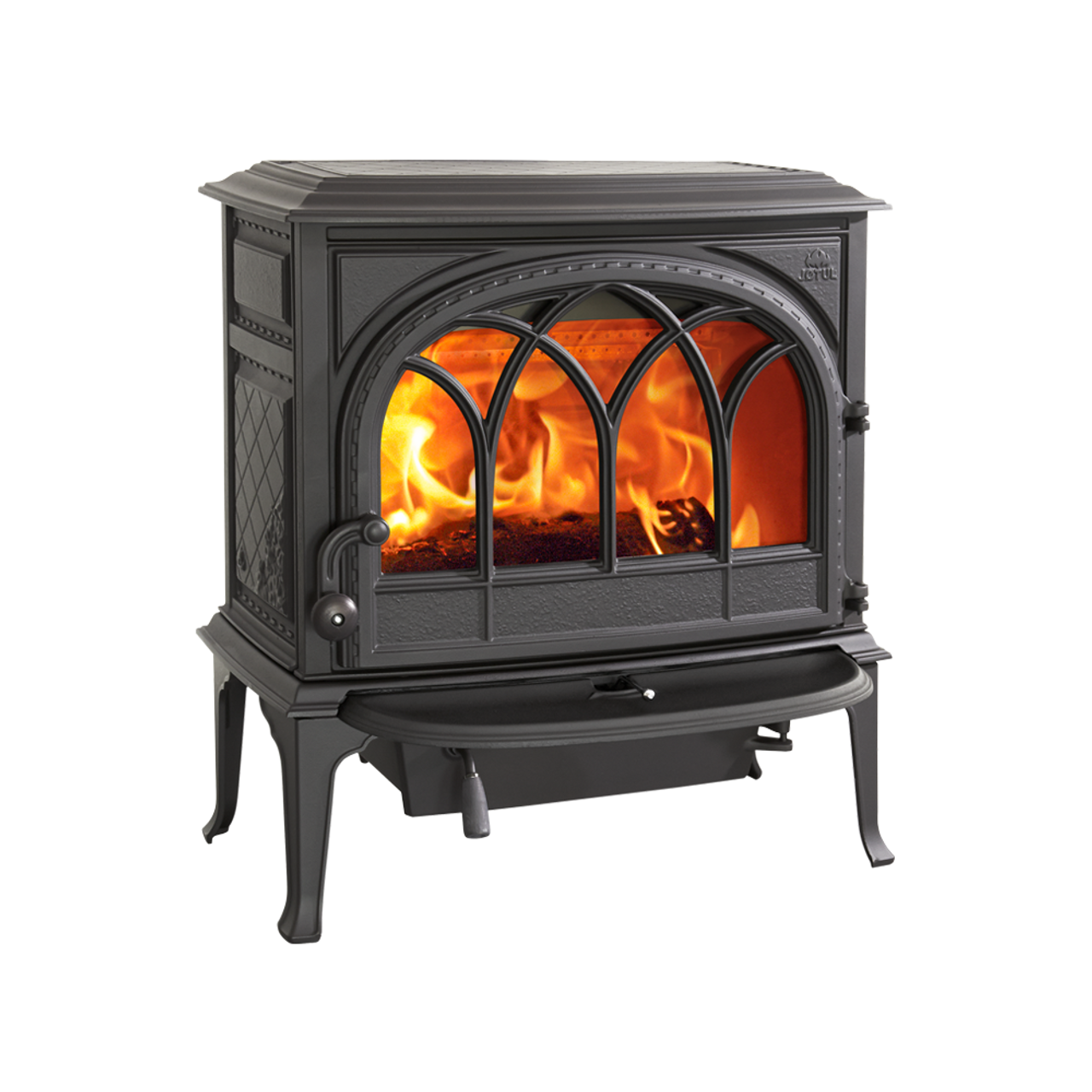 Jotul F400 CB Matte Black Wood Stove (New in Box)