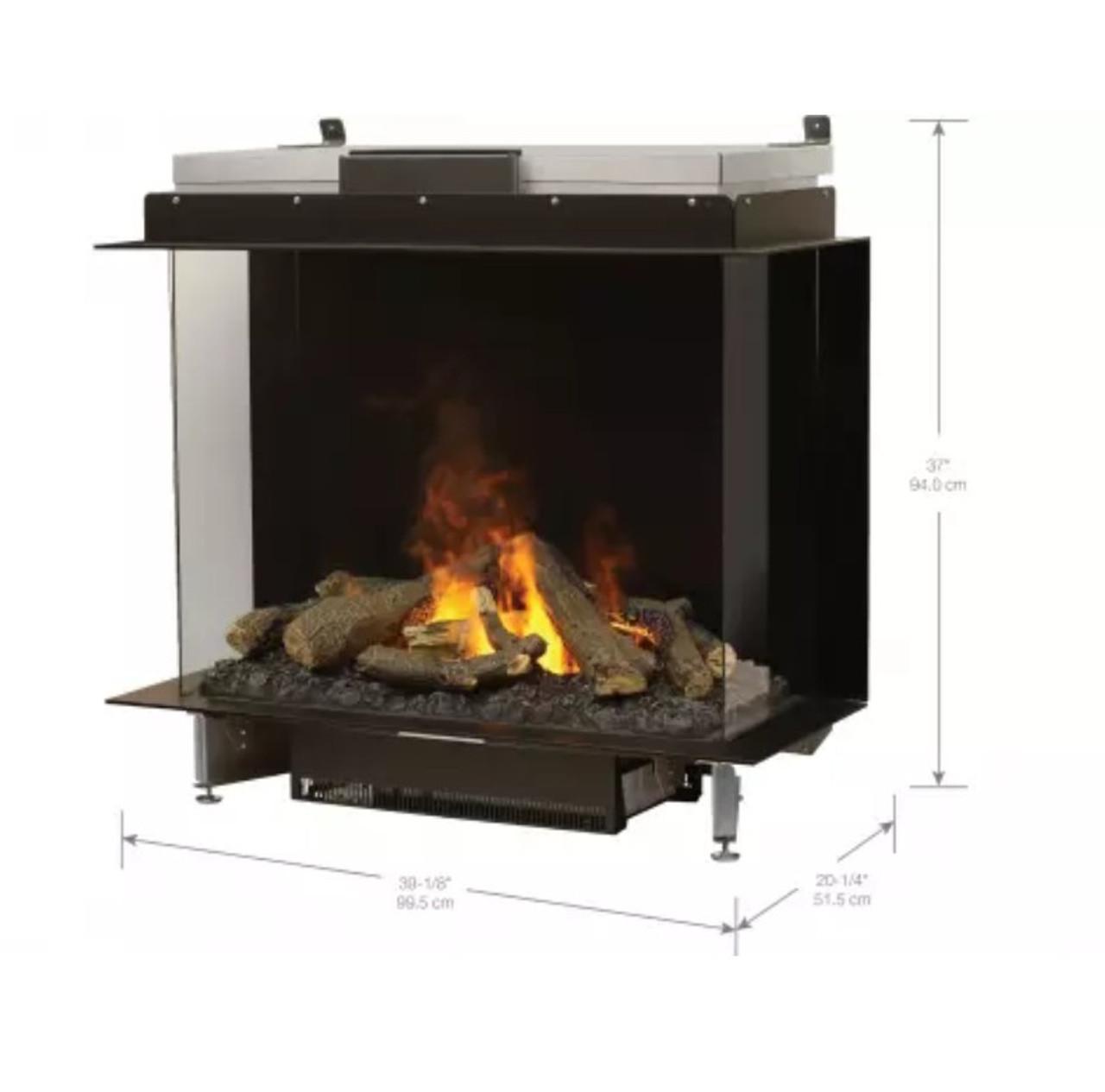 Faber E-Matrix 3226B Electric Fireplace