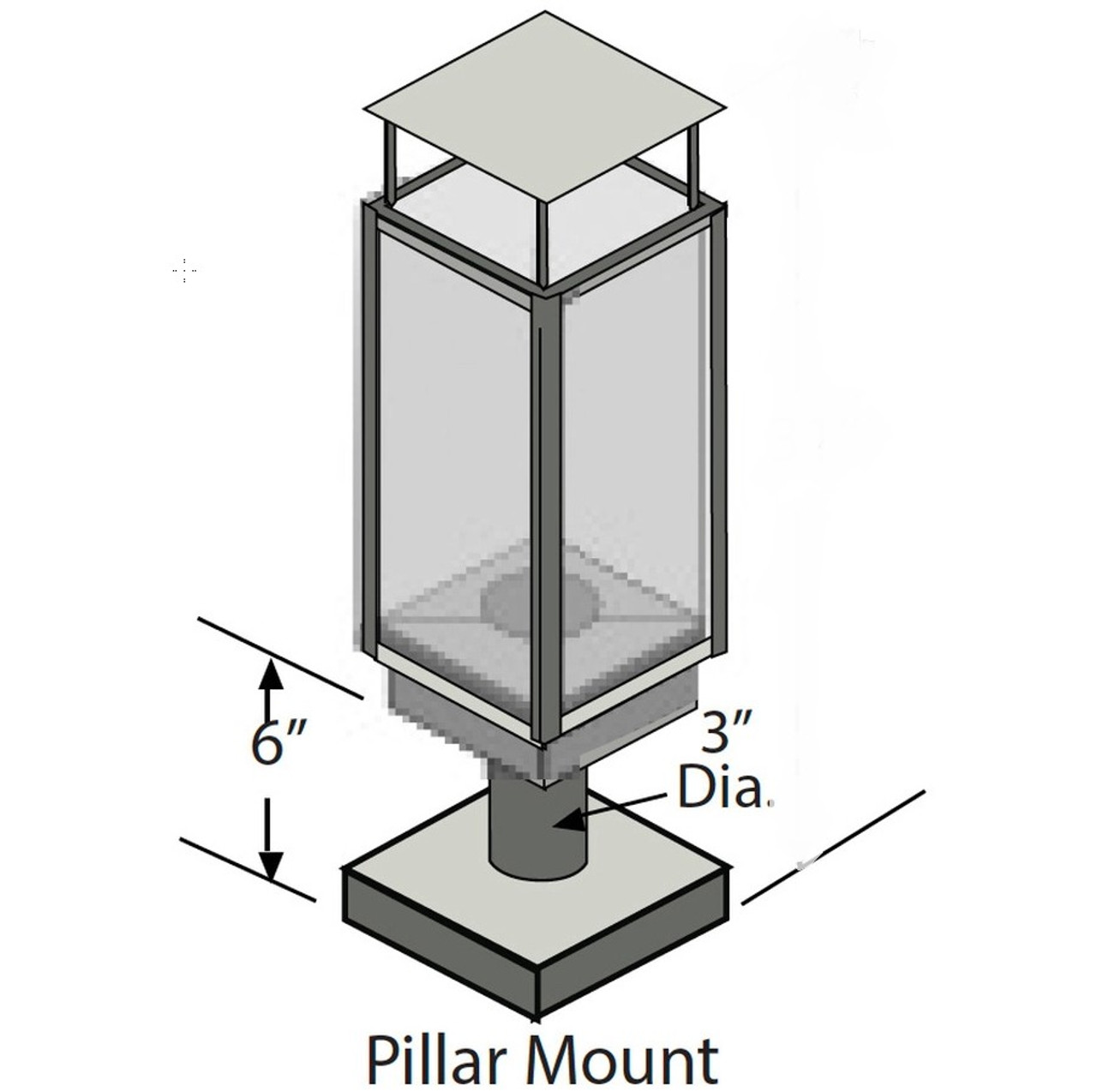 Tempest Pillar Mount