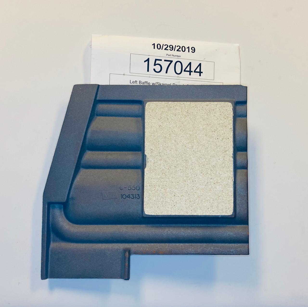 Jotul C550 LH Baffle Plate 157044  top side