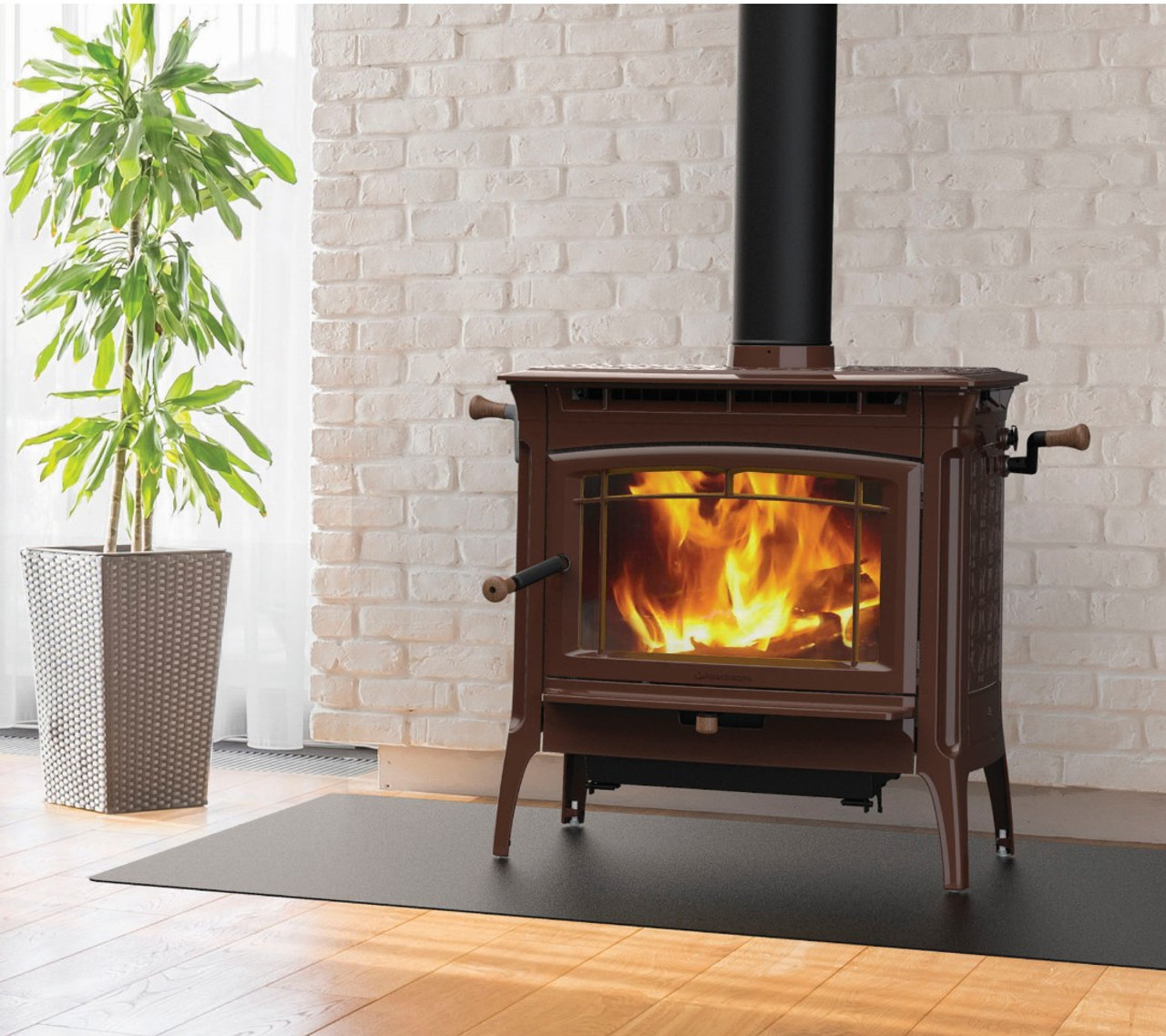 HearthStone Manchester Wood Stove in Brown