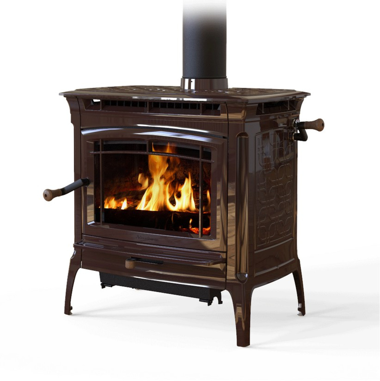 Hearthsone Manchester 8362 Wood Stove in Brown
