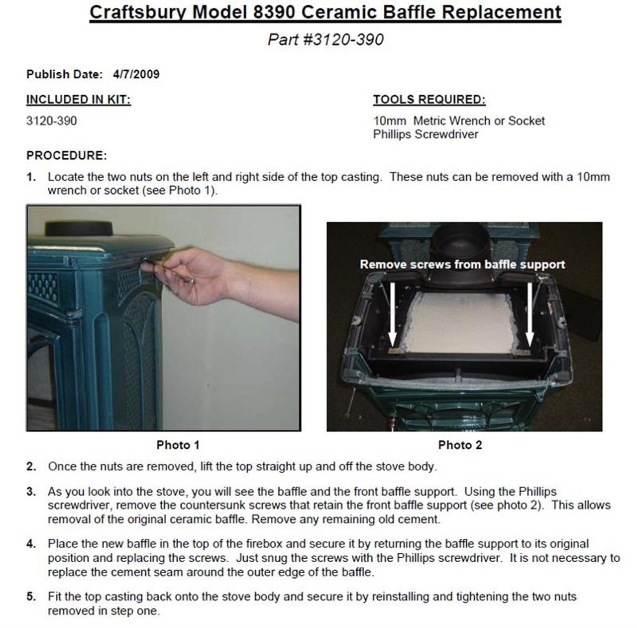 Craftsbury Ceramic Baffle 3120-390