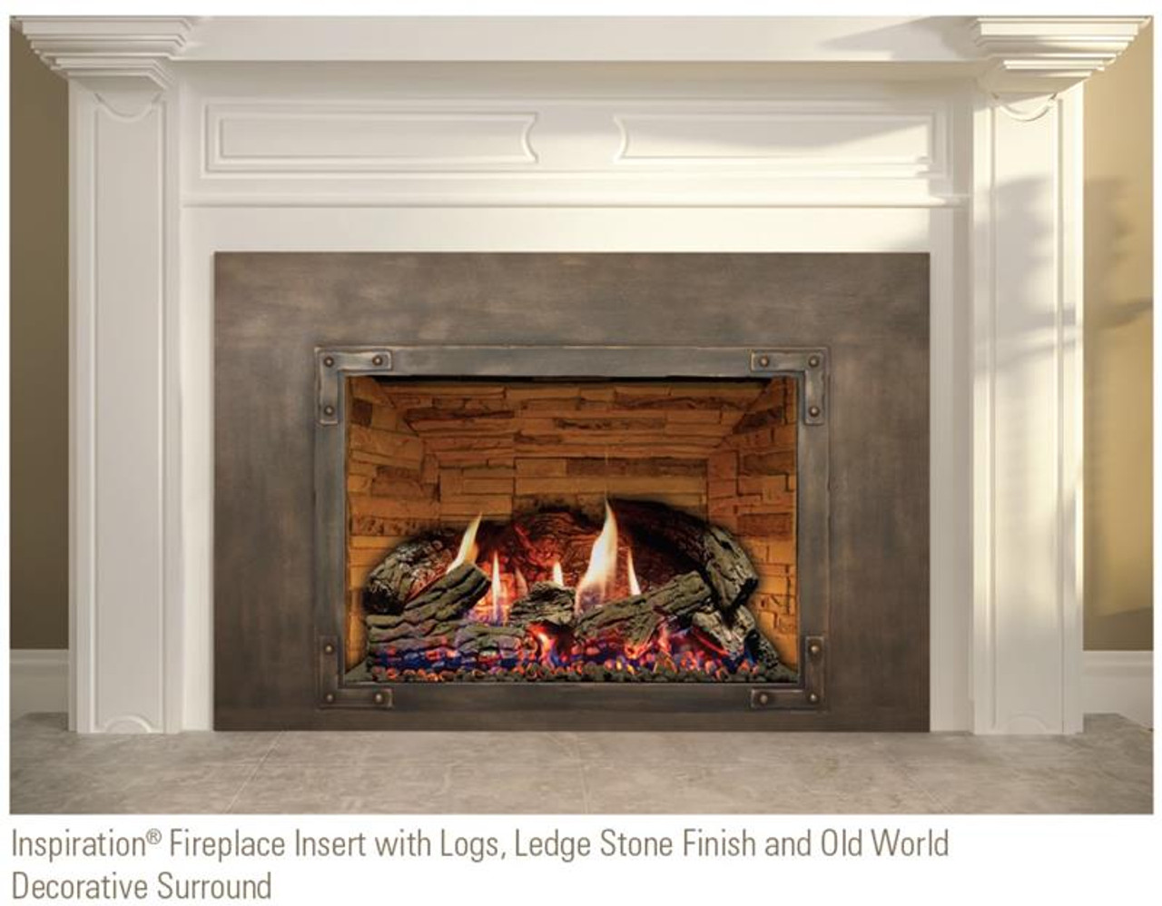 Inspiration 34 Gas Fireplace Insert