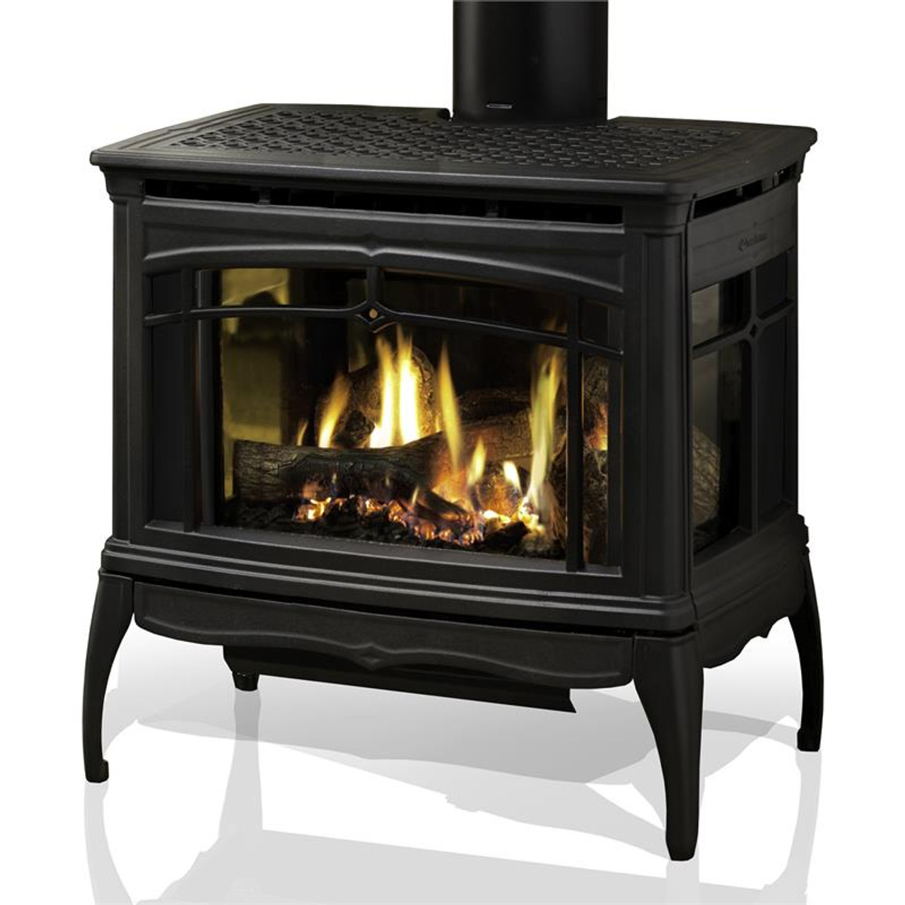 HearthStone Waitsfield DX Gas Stove in Matte Black