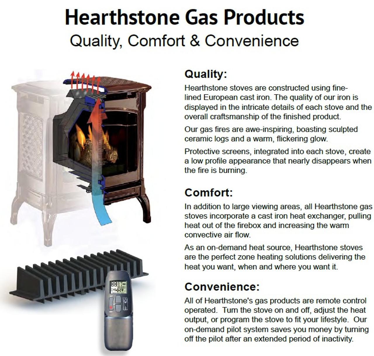 HearthStone Waitsfield DX Gas Stove