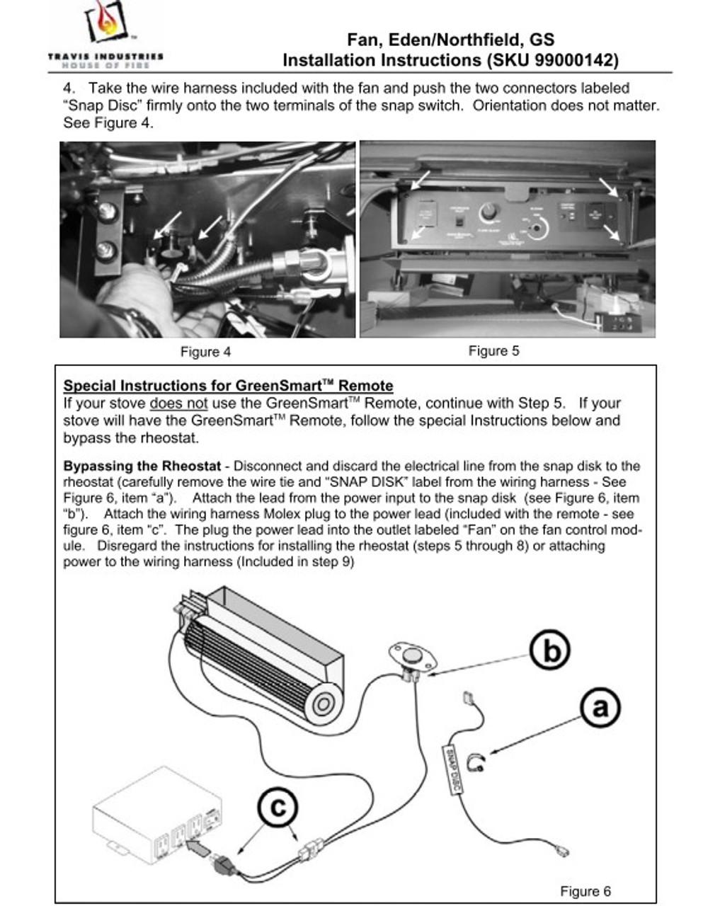 Lopi / Avalon 99000142 Blower Kit