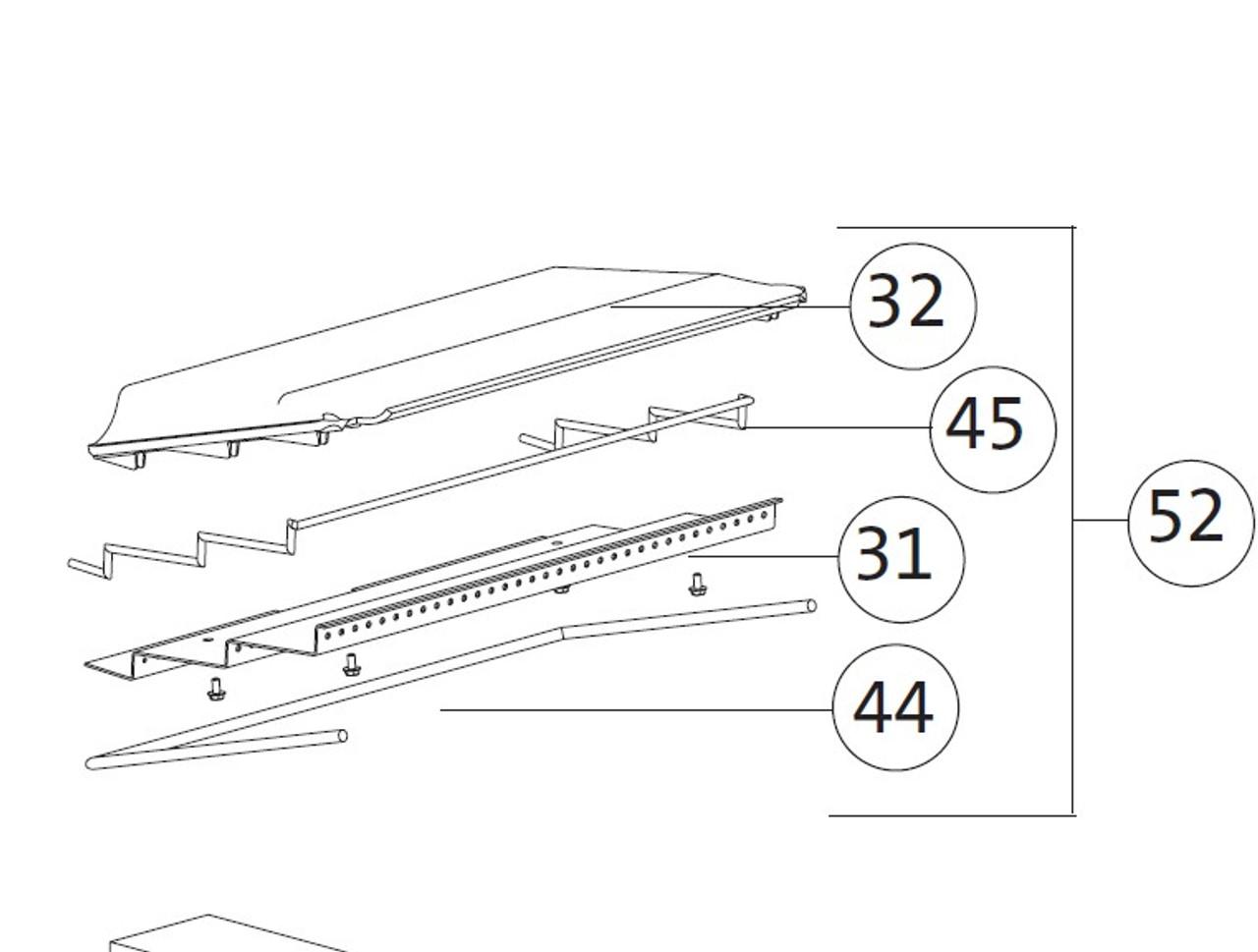 C450 Baffle Assembly 155309