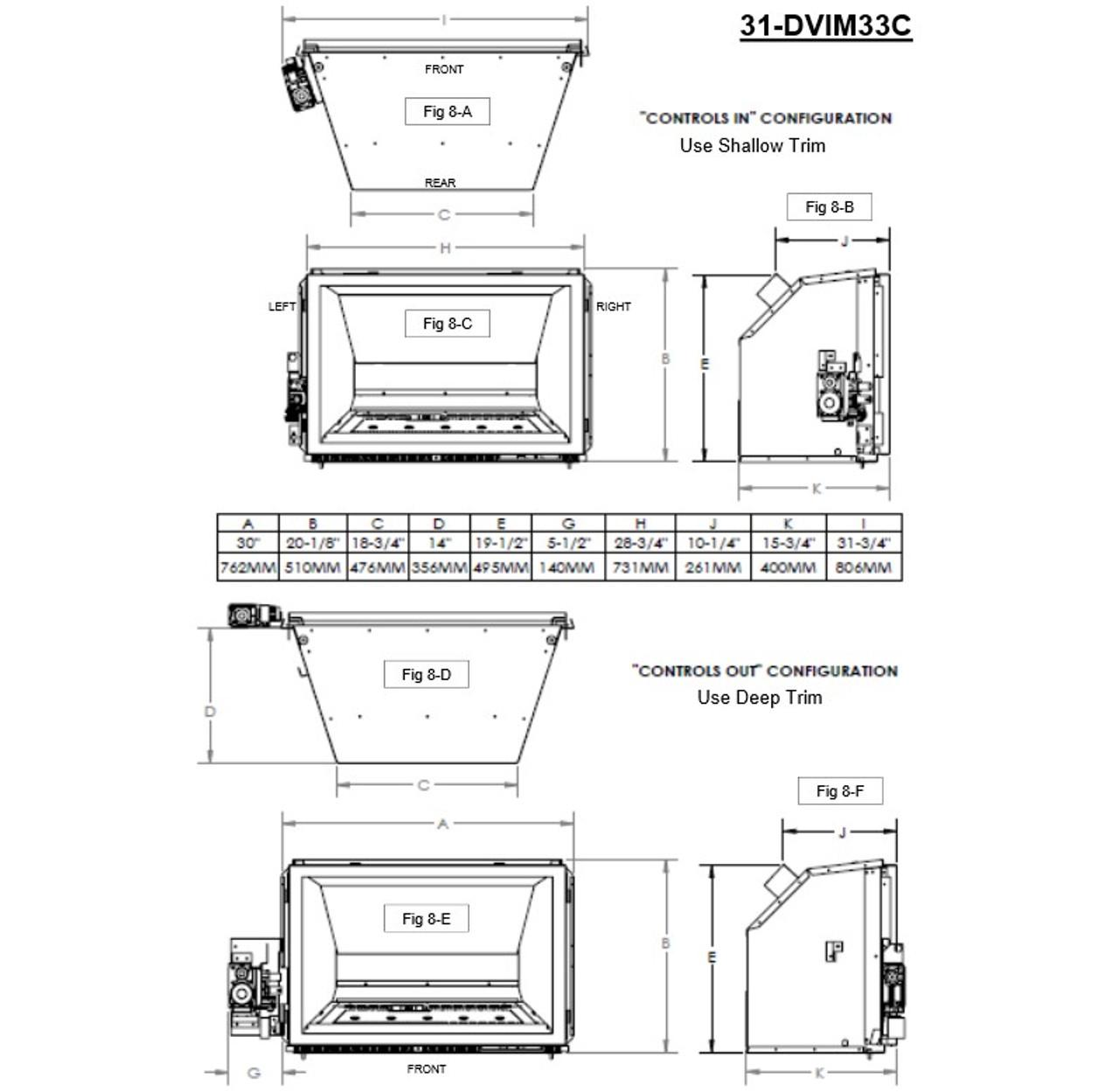 Archgard 31-DVIE33 Gas Insert