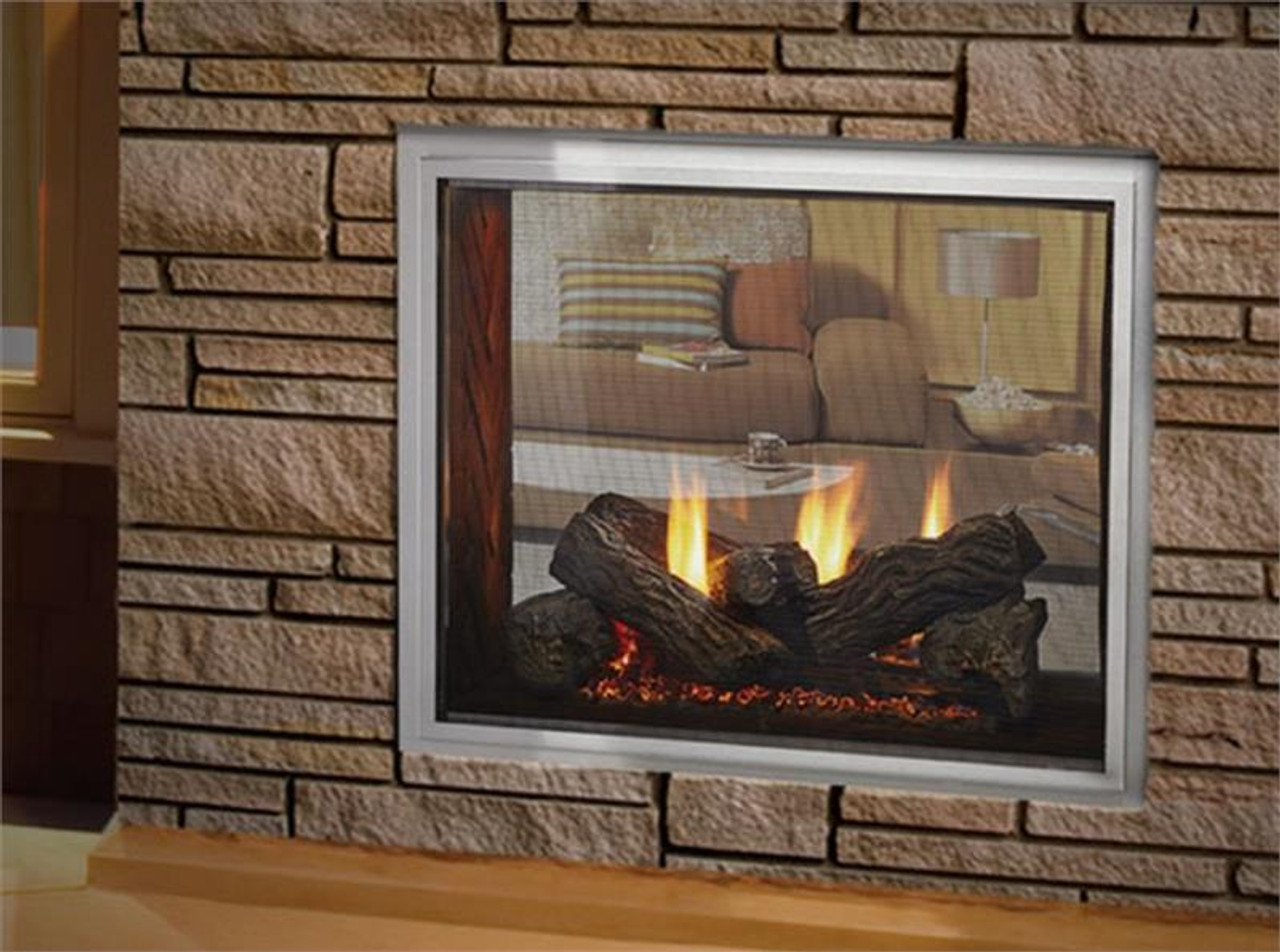 Fortress Indoor-Outdoor Gas Fireplace