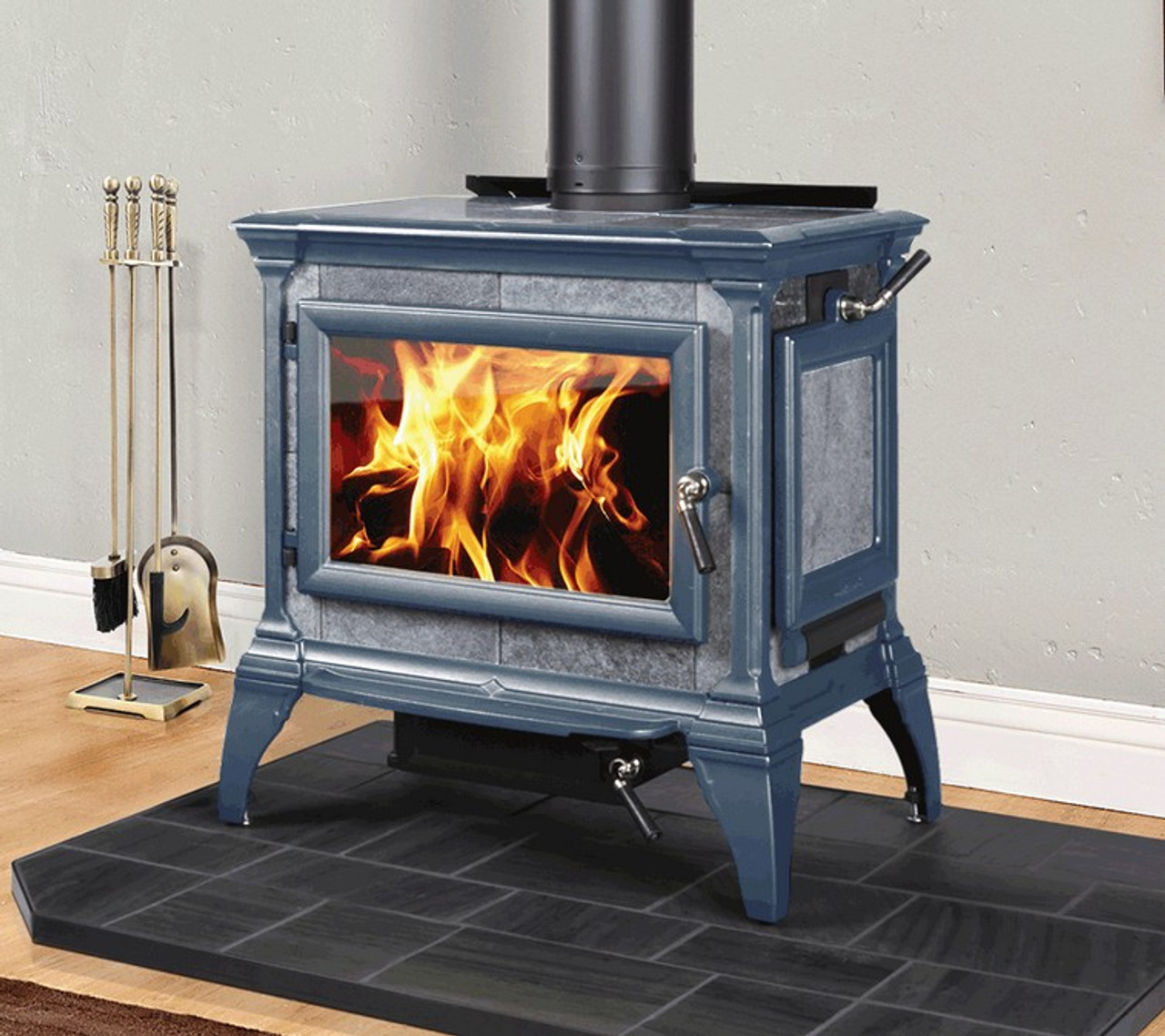 Hearthstone Heritage 8024 Wood Stove in Green
