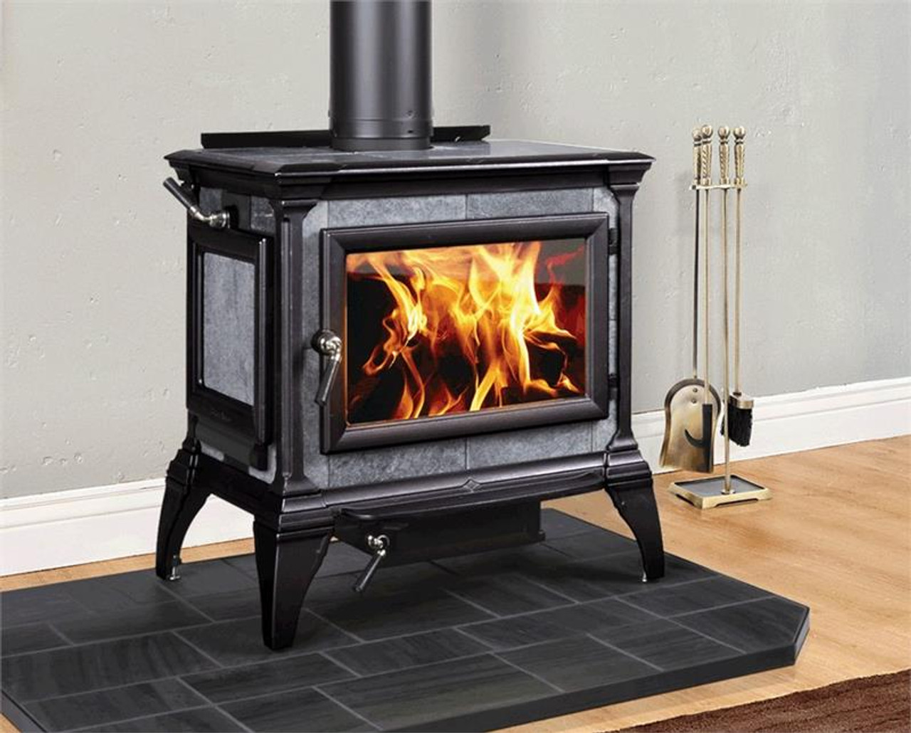 Hearthstone Heritage 8024 Wood Stove in Blue Black
