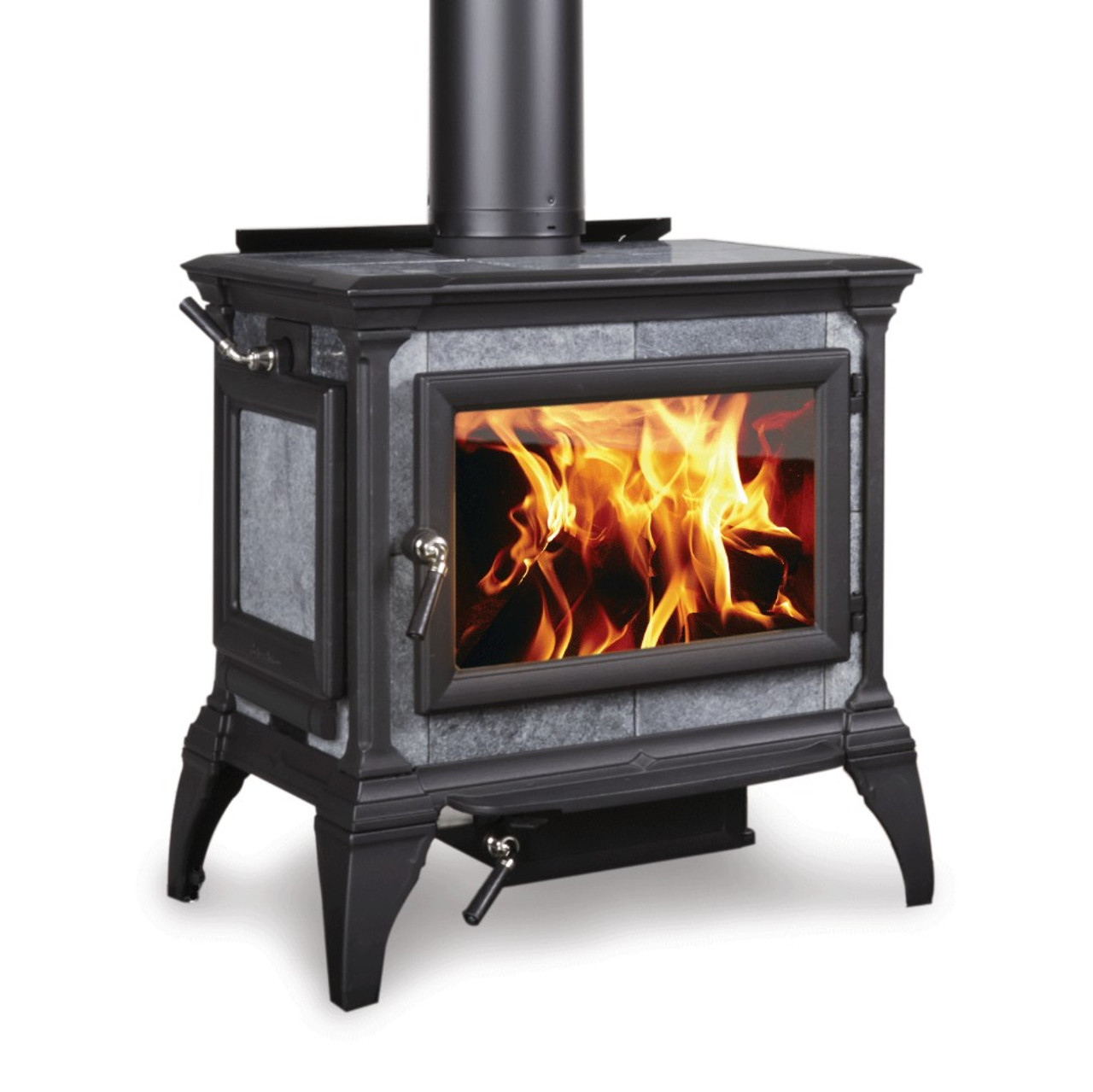 Hearthstone Heritage 8024 Wood Stove in Matte Black