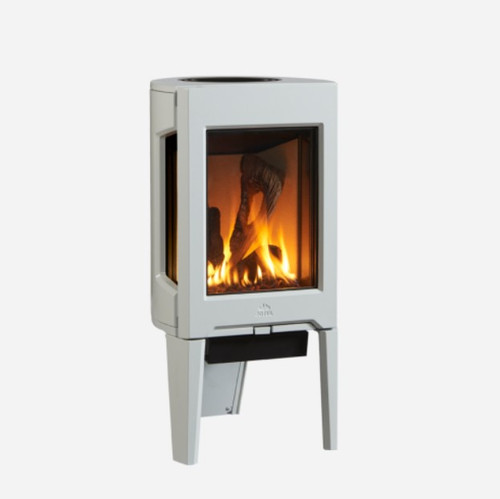 Jotul GF 160 Gas Stove in White