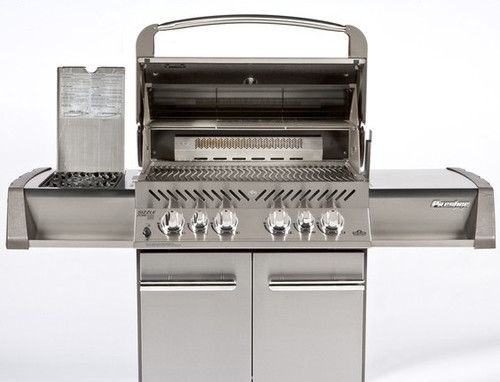 Napoleon Prestige 500 Gas Grill w/IR Side & Rear Burners