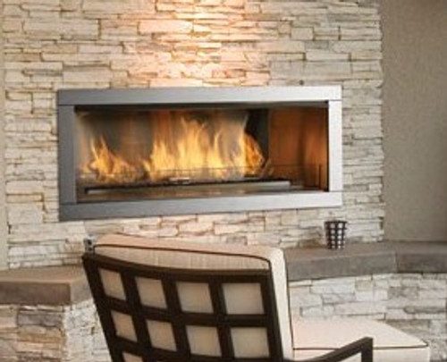 "36"" Outdoor Linear Gas Fireplace"