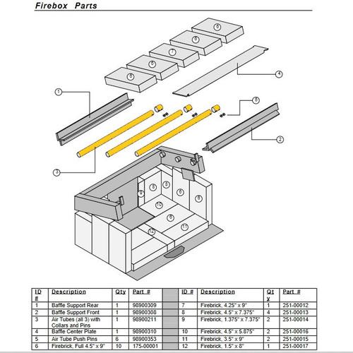 Avalon 98900211 Air Tube Kit