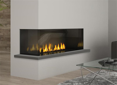 Chicago Corner 40 - City Series Gas Fireplace