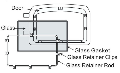 Regency Small Glass w/Gasket 846-302