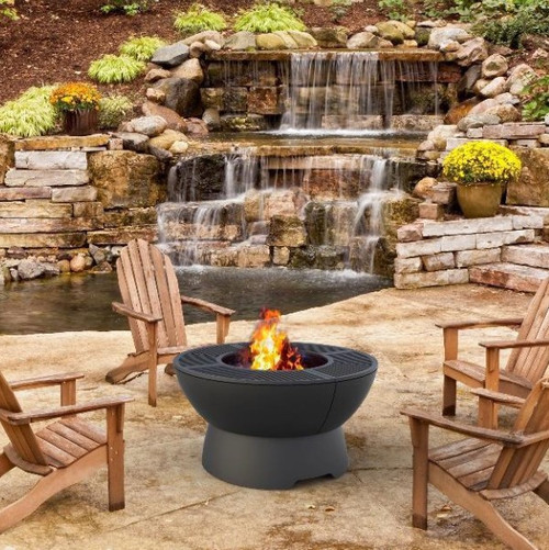 Hearthstone Cast Iron Firepit / Grill