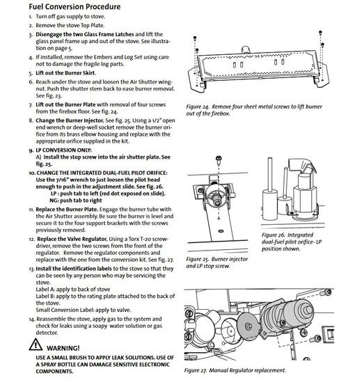 Jotul GF300 IPI LP Kit  -  157467